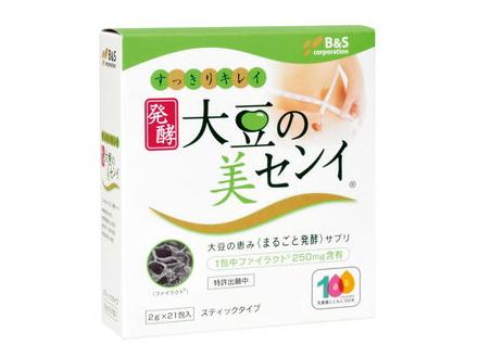 大豆の美センイ (2g×21包) ~国内産大豆を乳酸菌でまるごと発酵!~