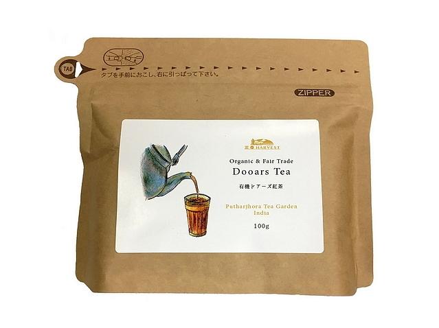 有機ドアーズ紅茶CTC (100g)  ~エヌ・ハーベストの有機紅茶~