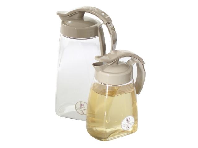「エンバランス容器 スライド式タテヨコピッチャー (鮮度保持・冷水筒)」 ~劣化や腐敗をおさえ食品をイキイキさせるプラスチック素材~