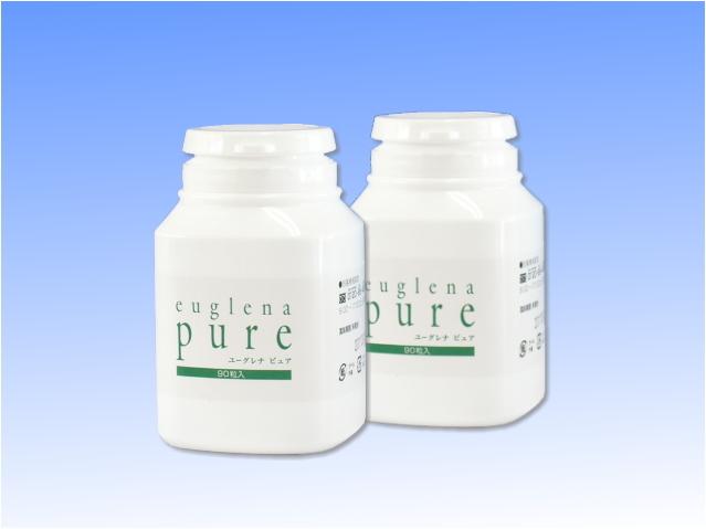 ユーグレナ ピュア (328mg×90粒) 2個セット ~人間に必要な栄養素59種類を含む完全栄養食~