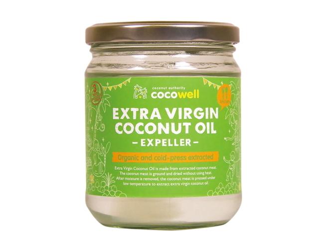 ココウェル エキストラバージンココナッツオイル エクスペラー ~熱に強い健康オイル~