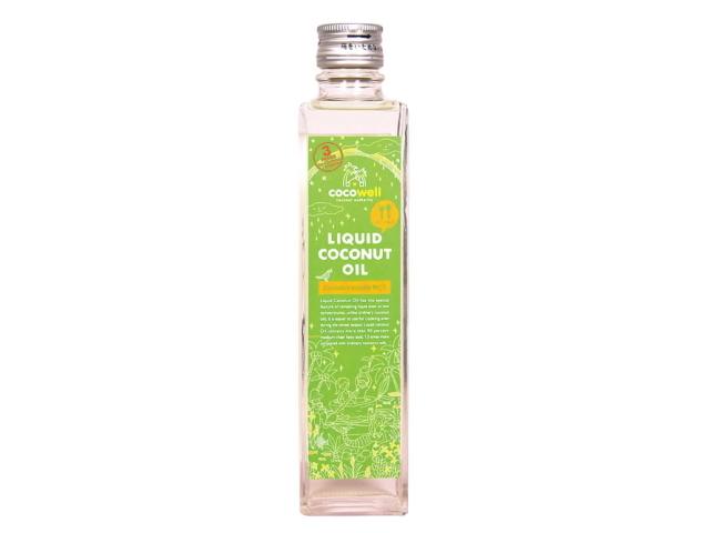 【ワケあり】 ココウェル リキッドココナッツオイル (280g) ~熱に強い健康オイル~ ★賞味期限間近