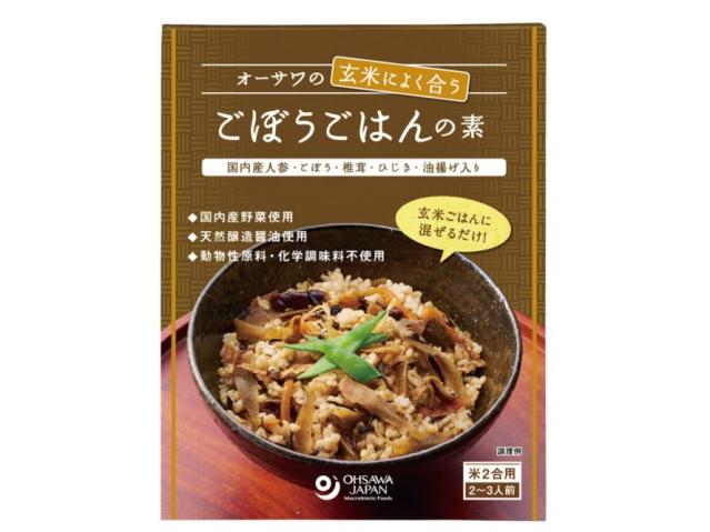 Ohsawa 「オーサワの玄米によく合うごぼうごはんの素 120g」