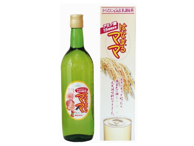 【ワケあり】 玄米アミノ酸調味料 「はなまるママ」 (720ml) ★賞味期限間近
