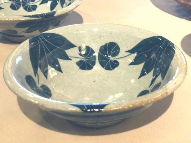 五山焼(いつつやまやき) 「蓮鉢」 ~信州の陶芸家 朝比奈克文氏 陶芸作品