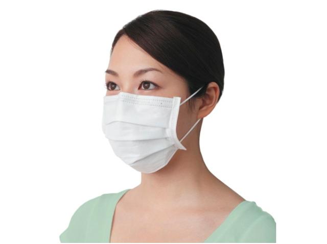 立体型高機能マスク 「インフルライフセーバー 平型 50枚入」 (レギュラーサイズ)