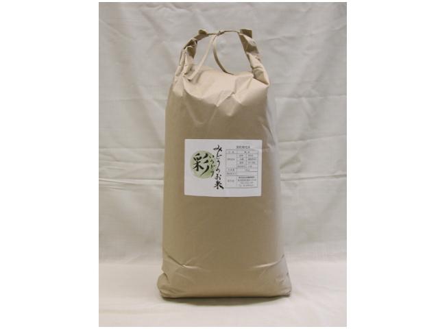 無農薬未成熟玄米 『みどりのお米 彩(いろどり)』 10kg (2013年度米)