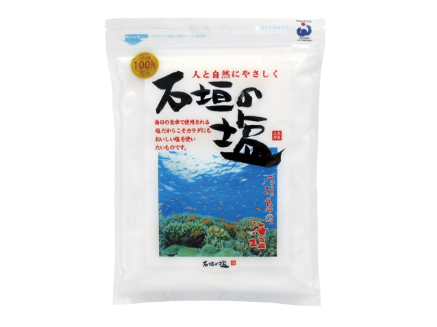 Ohsawa 「オーサワの海水塩 石垣 (480g)」 ~沖縄石垣島産海水100%~
