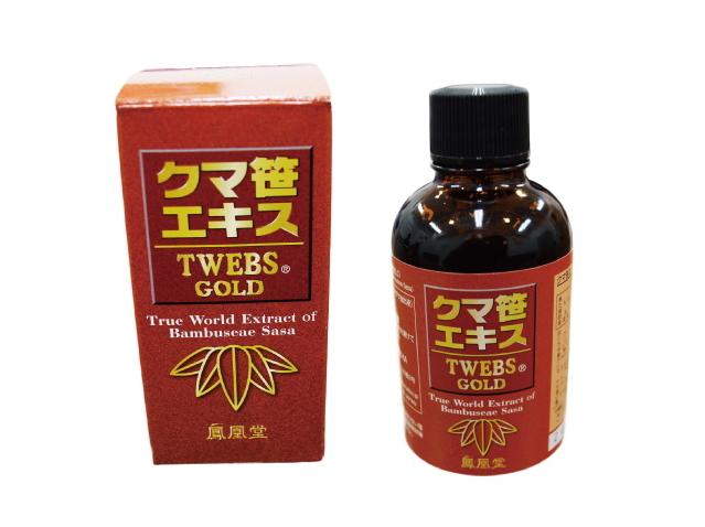 クマザサエキス TWEBS GOLD (15g×3本 / 80g)