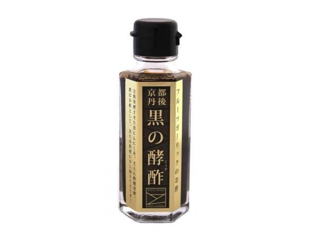 京丹後フルーツガーリックのお酢 「黒の酵酢」 (100ml) ~生体エネルギー活用商品~