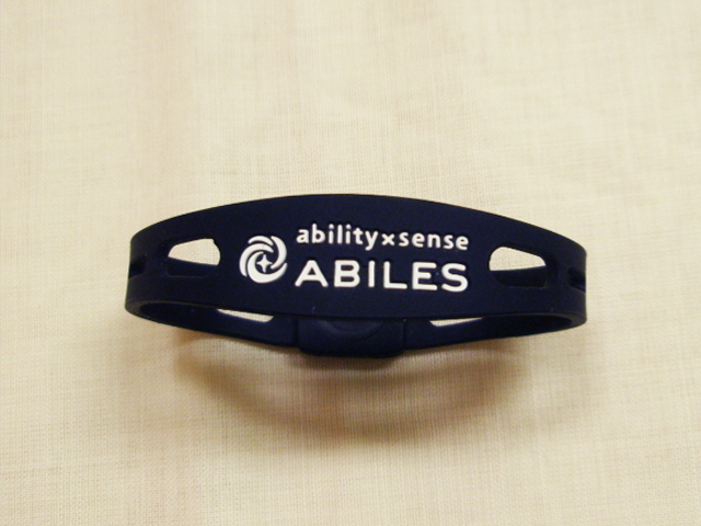 「ABILES+ (アビリス プラス)」 ~丸山式コイル BRACK EYE(ブラックアイ)搭載ブレスレット~