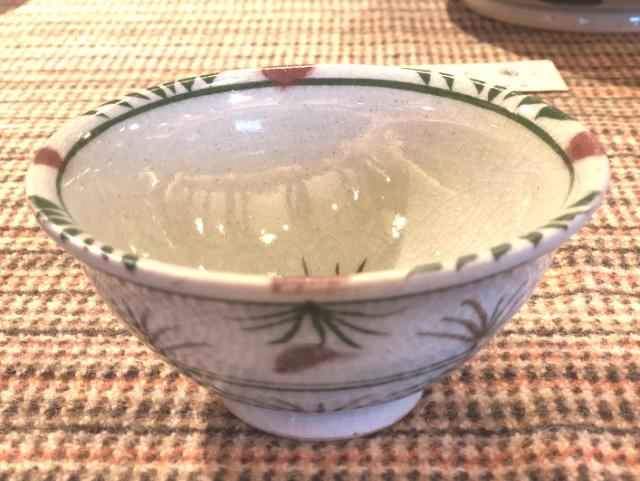 五山焼(いつつやまやき) 「飯碗 (ご飯茶碗)」 ~信州の陶芸家 朝比奈克文氏 陶芸作品