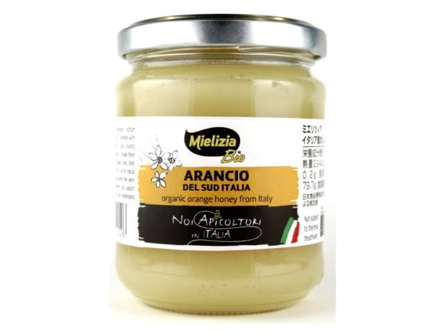 ミエリツィア 「オレンジの有機ハチミツ (250g)」 ~EUオーガニック規定認定品~