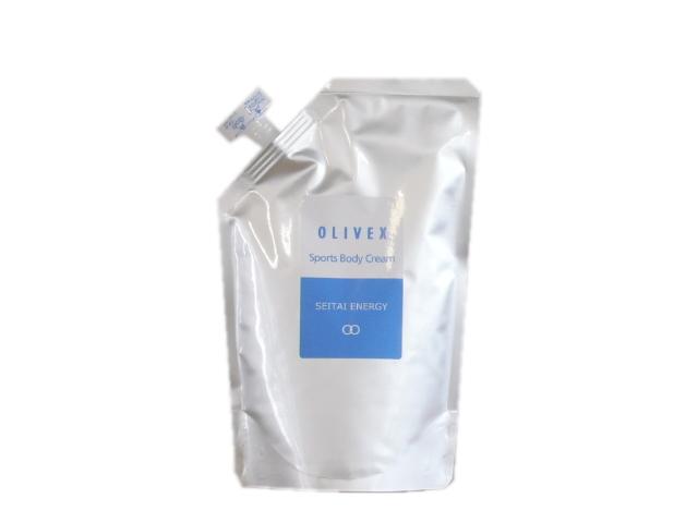 オリベックス スポーツボディクリーム 詰替え用 (450g) ~生体エネルギー応用商品~