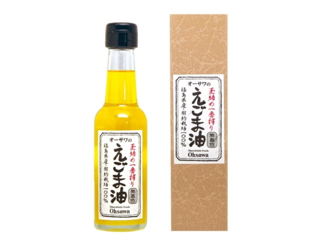 Ohsawa 「オーサワのえごま油 (140g)」 ~オメガ3(αリノレン酸)68%以上含有~