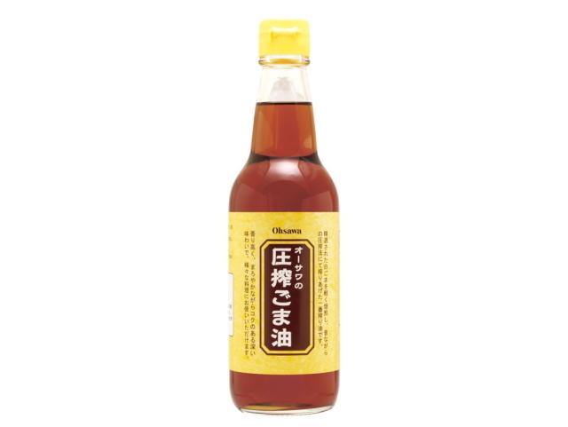 Ohsawa 「オーサワの圧搾ごま油 (330g)」 ~圧搾法一番搾り~