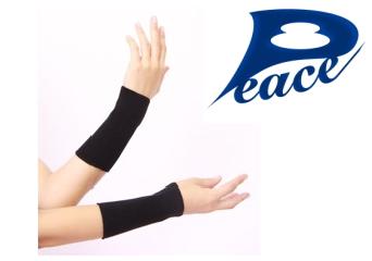 ピースエイト (Peace Eight) 手首用 ~グラファイトシリカが特殊加工された健康手首用サポーター~
