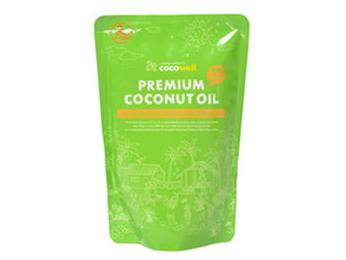 ココウェル プレミアムココナッツオイル (460ml) ~熱に強い健康オイル~