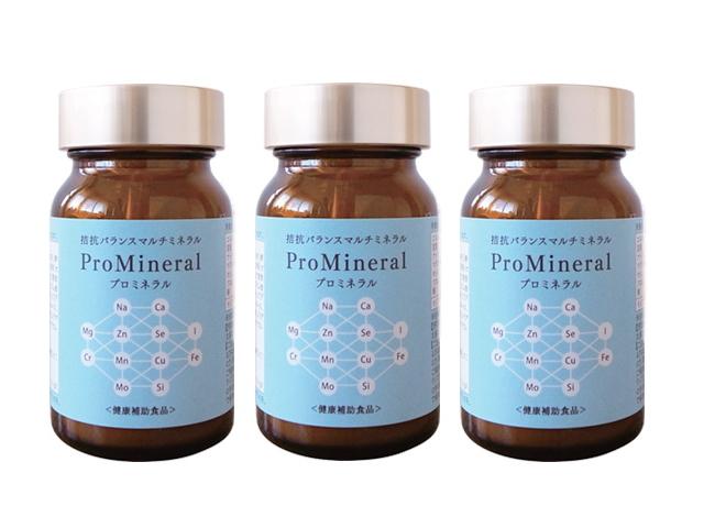 プロミネラル (300mg×100粒) 3個セット ~マルチミネラル~