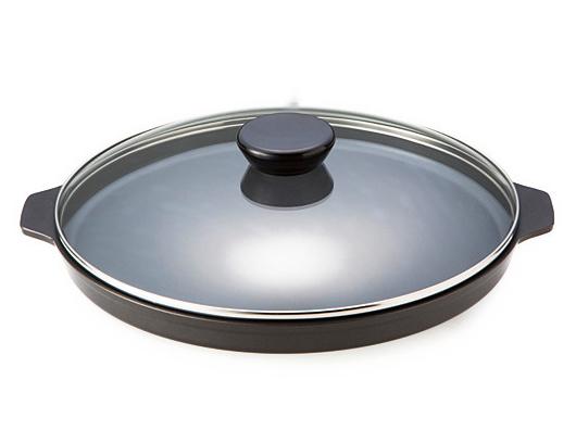 スーパーラジエントヒーター専用 「遠赤外線焼き物プレート」 (直径:32cm)