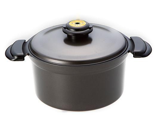 スーパーラジエントヒーター専用 「遠赤外線炊飯鍋」 (直径:22cm)