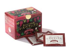レスベラックス (1,500mg×30包) ~ポリフェノール茶~