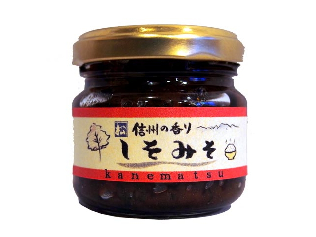 信州の香り しそみそ (90g) ~信州味噌と紫蘇の香り♪ (保存料・着色料不使用)~