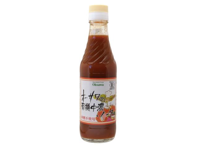 Ohsawa 「オーサワの有機中濃ソース」 ~有機野菜・果実使用~