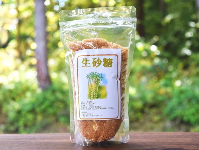 生砂糖 (350g) ~テネモス商品~