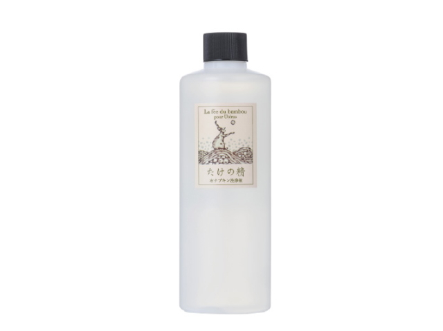 竹の妖精 布ナプキン洗浄液 (300ml) ~竹炭と竹灰と水で作られた人と環境に優しい布ナプキン用洗浄液~