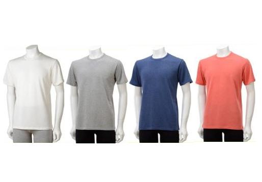 TAKEFU 竹布 ★(ひとつぼし)半袖Tシャツ  Men's ~癒しと生命力をもたらす天然素材~