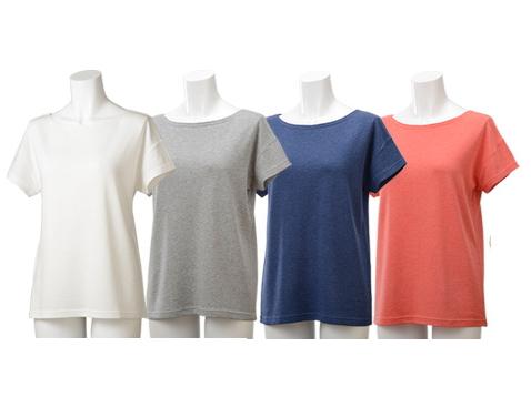 TAKEFU 竹布 ★(ひとつぼし)半袖Tシャツ  Lady's ~癒しと生命力をもたらす天然素材~