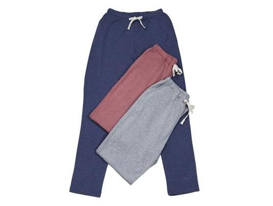 TAKEFU 竹布 「竹のロングパンツ」 Lady's (裏毛) ~癒しと生命力をもたらす天然素材~