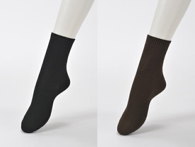 TAKEFU カラー 竹布 ソックス(23~25cm)【女性用】 ~癒しと生命力をもたらす天然素材~