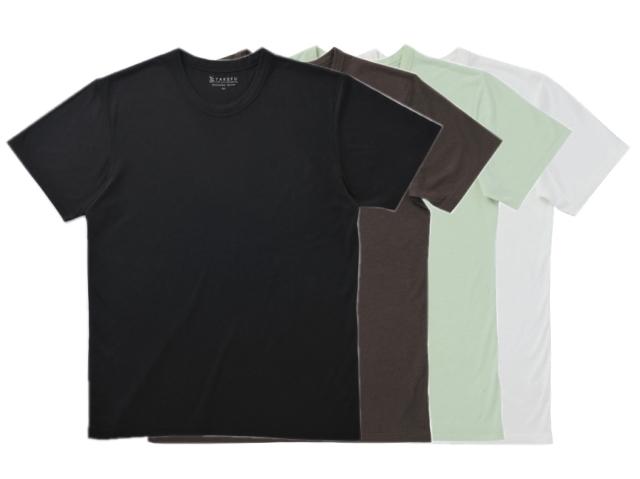 TAKEFU 竹布Tシャツ Men's (丸首半袖) ~癒しと生命力をもたらす天然素材~
