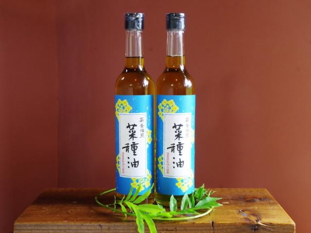 たねのわ搾油所 薪釜焙煎 菜種油(なたね油) ~国産原料100%使用の低温圧搾法一番搾り~