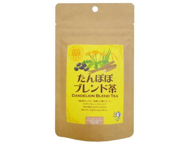 国産たんぽぽブレンド茶 (2g×6袋) ~国産原料に拘って厳選した4種をブレンド~