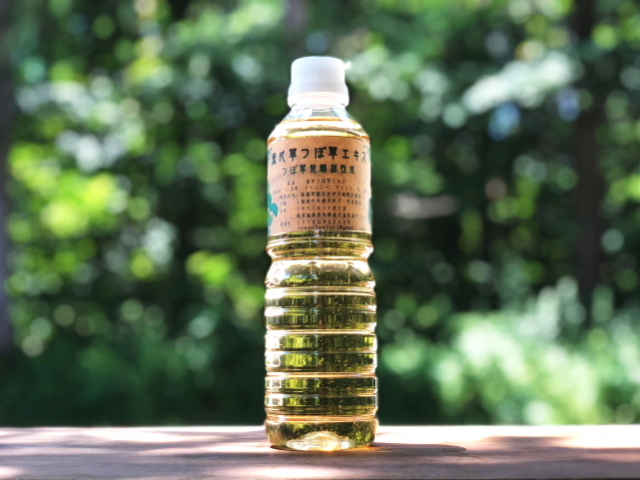 つぼ草発酵活性水 「屋久草つぼ草エキス (500ml)」 ~テネモス商品~ ※飲料用ではございません。