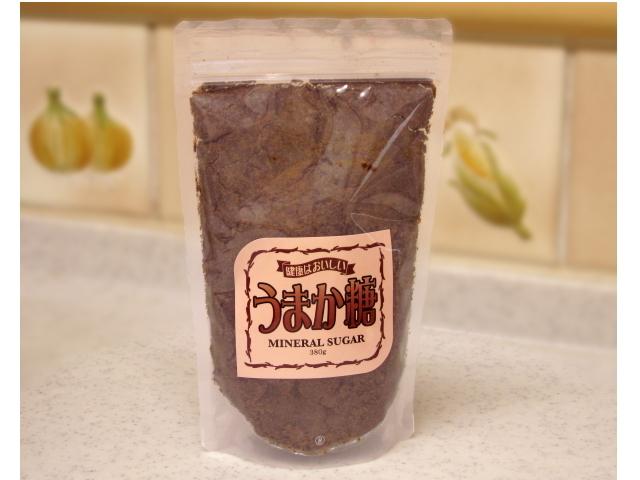 ミネラルシュガー 「うまか糖」 (380g)