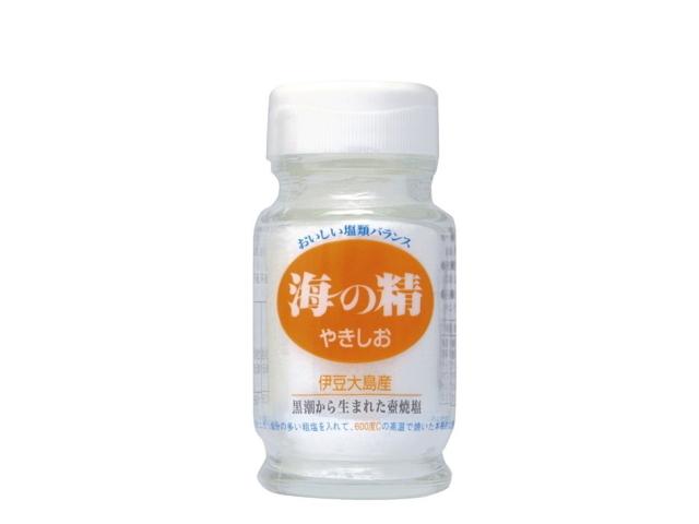 海の精 やきしお (ビン入り) 60g