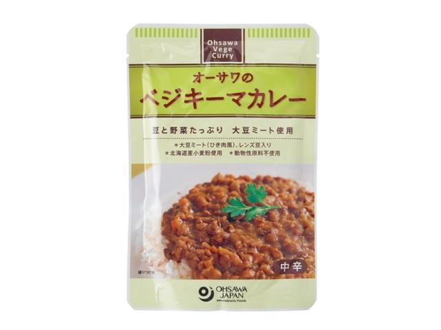 Ohsawa 「オーサワのベジキーマカレー (レンズ豆入り) 150g」