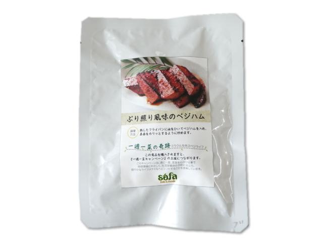 ぶり照り風味のベジハム (100g) ~sofa Deli & Foods~ ※レトルトパウチ食品