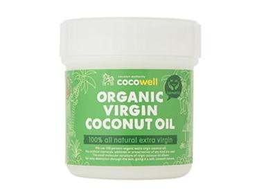 ココウェル オーガニックバージンココナッツオイル (140ml) 〈化粧品〉 ~成熟した生のココナッツ果肉から抽出したピュアオイル~