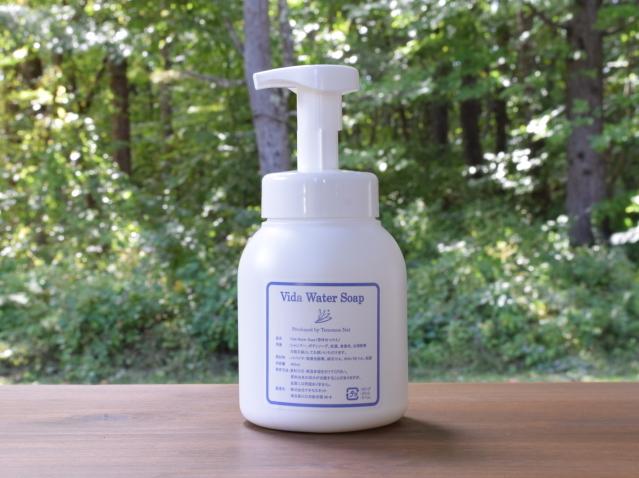 Vida Water Soap (ビダウォーターソープ) 泡ポンプ容器入り (400ml) ~テネモス商品~