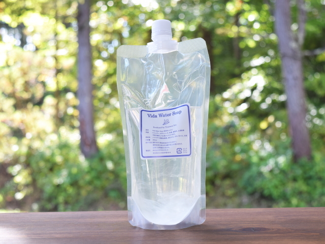 Vida Water Soap (ビダウォーターソープ) 詰替え用 400ml ~テネモス商品~
