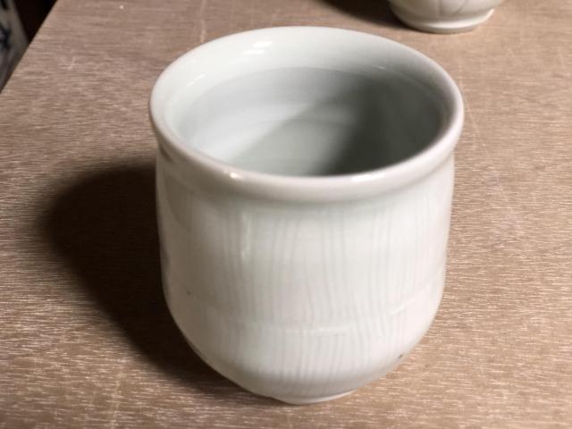 五山焼(いつつやまやき) 「湯呑」 ~信州の陶芸家 朝比奈克文氏 陶芸作品