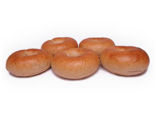 天然酵母と湧水を使った 「全粒粉プレーンベーグル」 5個セット ~砂糖・乳製品・卵・添加物不使用~