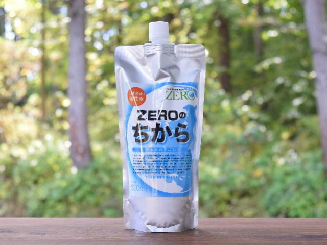 酵素水 「ZEROのちから」 ~複合発酵増殖技術により微生物処理した活性水~