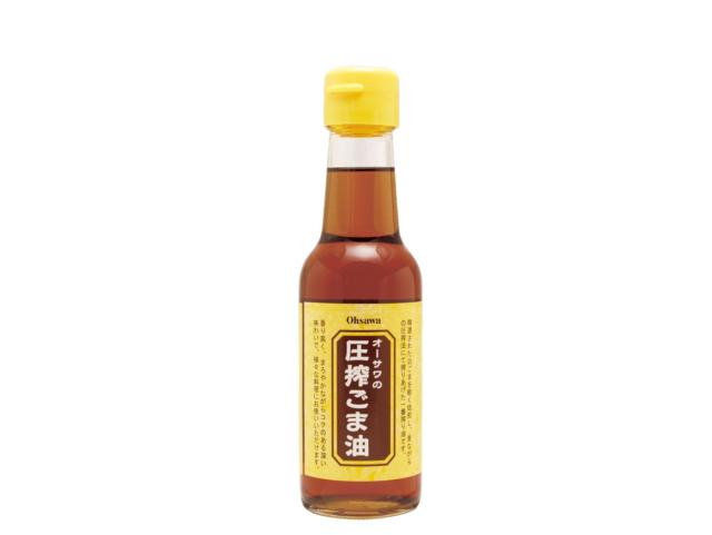 Ohsawa 「オーサワの圧搾ごま油 (140g)」 ~圧搾法一番搾り~