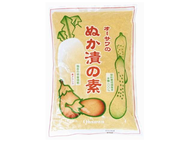 Ohsawa 「オーサワのぬか漬の素 (500g)」 ~契約栽培国産米100%使用~